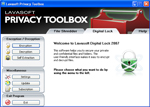Screenshot - Lavasoft Privacy Toolbox